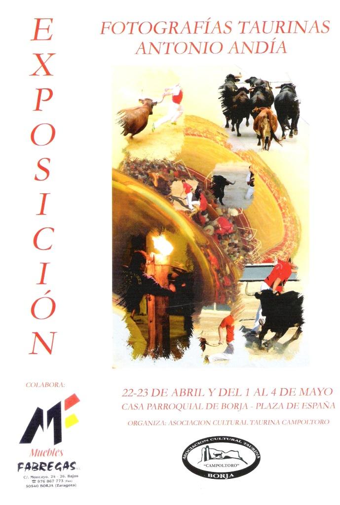 Exposición Antonio Andía -Agapito- 1 (Cartel)