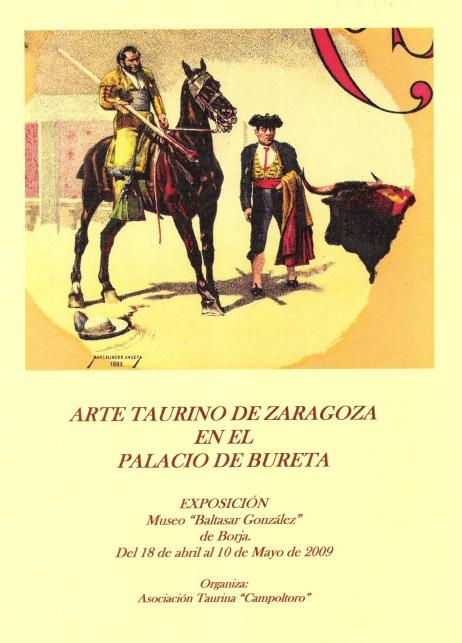 Exposición Litografías Palacio de Bureta 1 (Cartel)