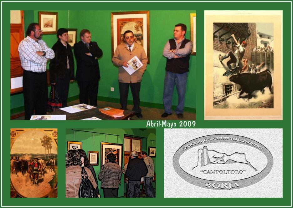 Exposición Litografías Palacio de Bureta 11 (Collage)