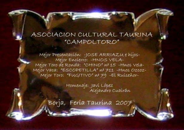 Premios 2007 (Original)