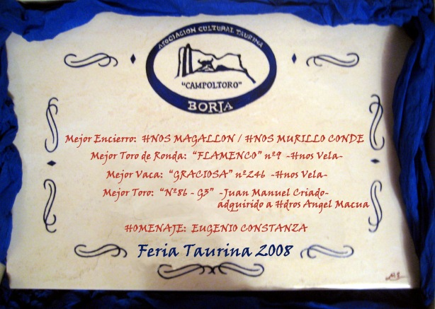Premios 2008 (Original)