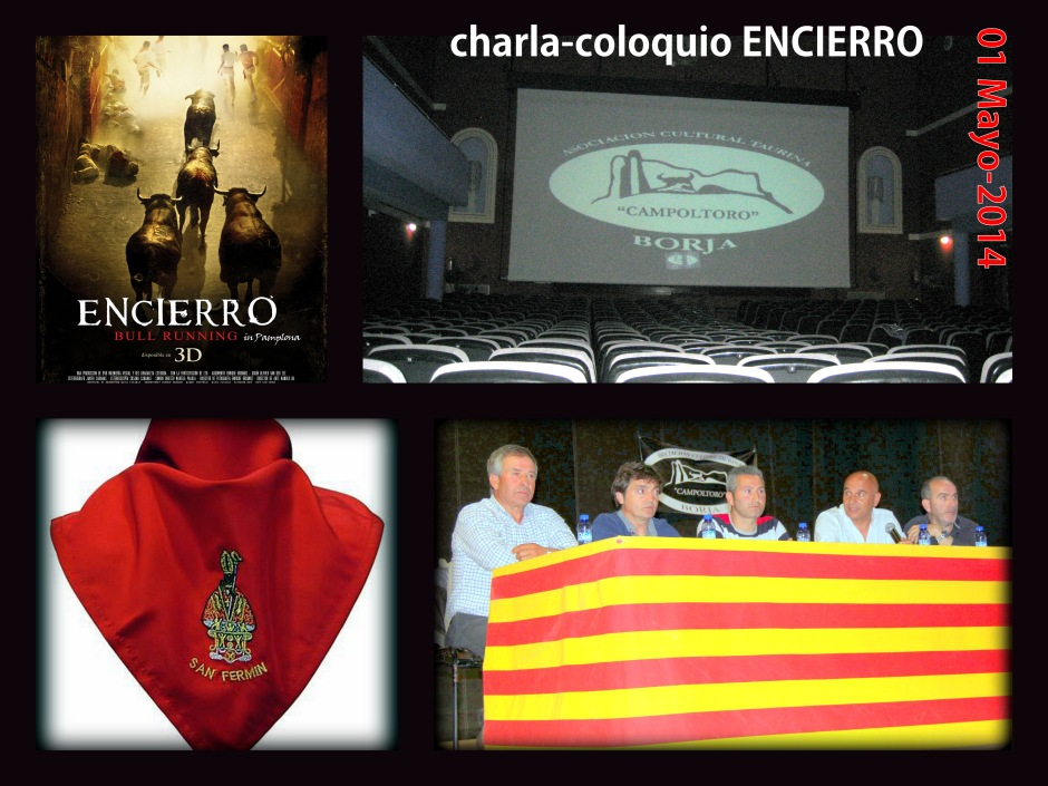 Charla ENCIERRO (Collage)