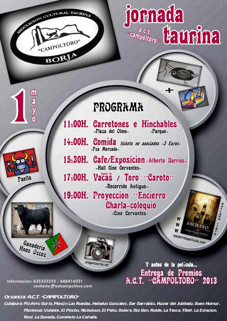 Jornada Taurina Campoltoro 2014 -Cartel-
